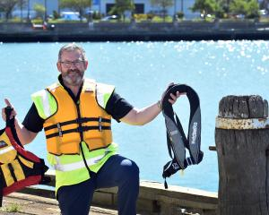 ORC harbourmaster Steve Rushbrook will be telling boaties to clip on lifejackets this summer....