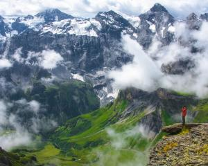 Three people had been involved in the base-jump at Stockhorn - a mountain of the Bernese Alps....