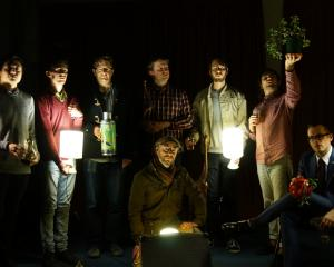From left: Daniel Millward, Jake Baxendale, Matthew Allison, Chris Buckland, Nick Tipping (seated...