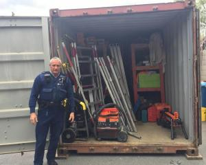 A significant amount of stolen building supplies and tools has been recovered by Wanaka police....
