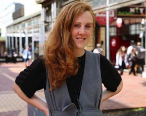 Ashley Mackenzie-White, the ginger gathering organiser. Photo: RNZ