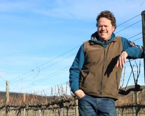 Central Otago Winegrowers Association spokesman James Dicey pictured earlier this year. Photo: ODT