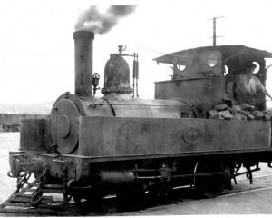 The A66 locomotive. Photo: Industrial Heritage Otago