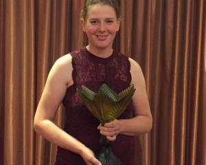 Annabel Bulk, the Young Horticulturist of the Year. Photo: Supplied