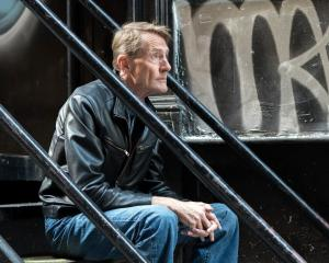 Jck Reacher author Lee Child. Photo: Supplied