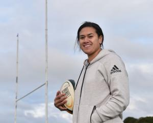 Kilistina Moata'ane, who is among the first group of Black Ferns players to be professionally...