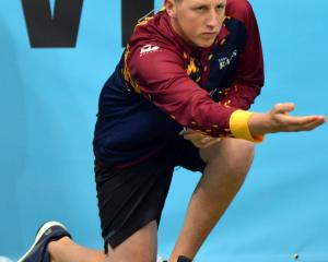 Caleb Hope plays for the Gore Rams in Bowls New Zealand's Bowls3Five competition. Photo: Supplied