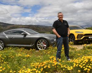 Former television presenter Shaun Summerfield has bought 10 supercars to Queenstown and Cromwell,...