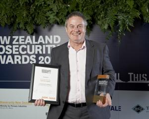 Environment Southland director of operations Jonathan Streat received the supreme award at the...