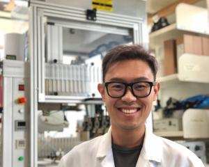 University of Otago bioengineer Dr Khoon Lim in his laboratory. Photo: Supplied