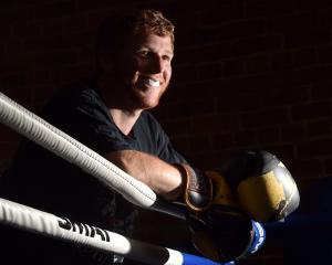 Dunedin boxer Michael Pascoe reflects on his upcoming bout against Josh Hatherley. Photo: Peter...