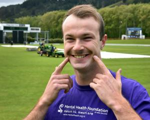 Otago fast bowler Michael Rae has joined the Volts in growing a moustache during the one-day...
