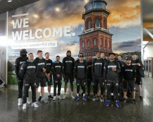 Breakers players arrive in Invercargill ahead of their crucial clash against reigning Australian...