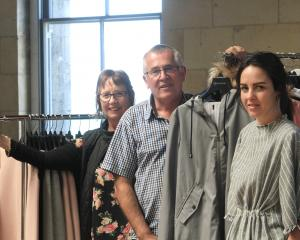 Moke's Lynn Stevens (left) director Keith Stevens and designer Anneke Stevens are moving to the...