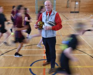 Logan Park High School teacher Paul Fielding has won a national service to sport award for his...