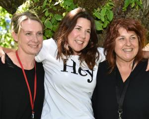 Seeking volunteers to mentor the children of prisoners are (from left) Pillars Dunedin whanau...