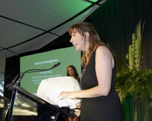 Merlyn Hay speaks at the New Zealand Biosecurity Awards about discovering the problematic...