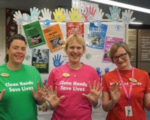 The Infection Prevention and Control Team get behind Patient Safety Week