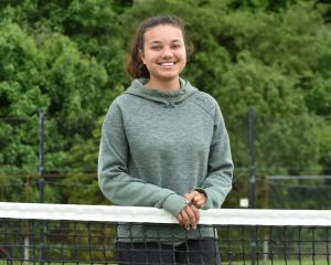 New Tennis Otago competitions and development officer Ayesha Horley (20) at the tennis centre at...
