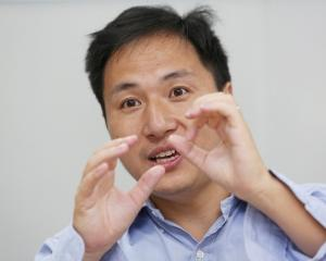 Scientist He Jiankui created the first genetically edited babies. Photo: Reuters