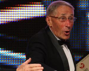 Bill Baillie at the Westpac Halberg Awards in 2011. Photo: Getty Images