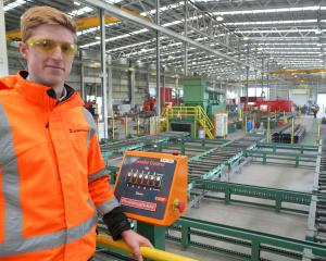 Calder Stewart assistant project engineer Luke Baines is looking forward to welcoming Tokomairiro...