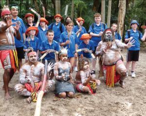 Otago kids enjoying the Koru Care Otago Trust trip to the Gold Coast in November.