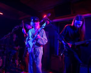 Connan Mockasin performing at the newly-refurbished Captain Cook Hotel in February. Photo: Supplied