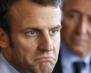 Emmanuel Macron. Photo: Reuters