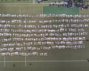 Four hundred and forty Year 9 and 10 students at Wellington College illustrate the human toll of...