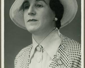 Gwenda Burt was given a leading role of Miss Sophia Uprington, an English spinster aunt.