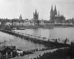 Cologne on the Rhine, one  of the German cities to be occupied by the Allies. — Otago Witness, 4...