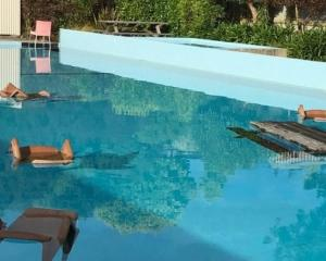 The pool had only been open three days after a $28,000 spruce-up, when someone climbed over the...
