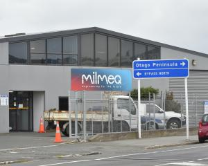 Milmeq in Dunedin is set to close. Photo: Gregor Richardson