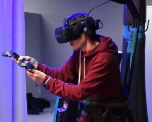 Full-motion virtual reality will be available to the New Zealand public for the first time when...