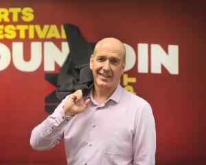 Arts Festival Dunedin director Nicholas McBryde is retiring after completing work on the 10th...