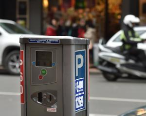 Parking warden, Dunedin. Photo: Gregor Richardson