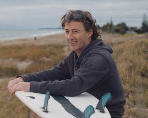 Tauranga surfboard maker Paul Barron came up with the idea of building a surfboard shell from...