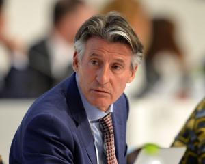 Sebastian Coe. Photo: Getty Images