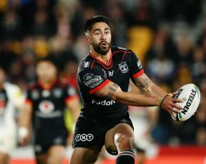 Former Warriors halfback Shaun Johnson. Photo: Getty Images