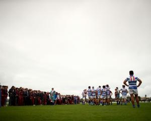 St Kentigern College are quickly running out of options for First XV opponents. Photo: Getty Images