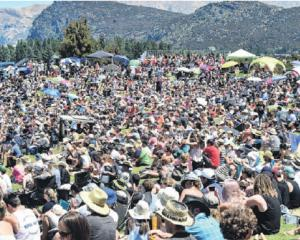 About 5000 people enjoyed last year's Wanaka Rodeo.