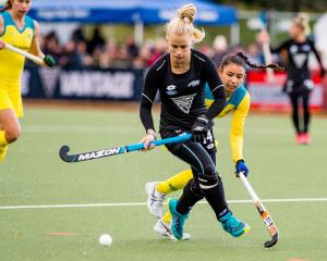 Black Sticks Michaela Curtis & Kristina Bates , Black Sticks Women Vs Australia, Tri Nations...