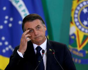 Brazil's President Jair Bolsonaro. Photo: Reuters