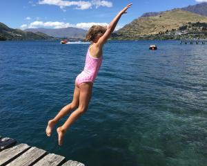 Ruby stewart (6) Batman leaps into the wakatipu