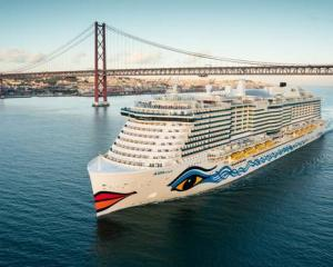 The AIDAnova is the first of a new generation of LNG-powered cruise ships. Photo: Supplied