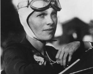 Amelia Earhart is shown in this file photo.  (AP Photo/File)