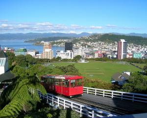 Wellington's cable car is a popular tourist attraction. Photo: Wikipedia