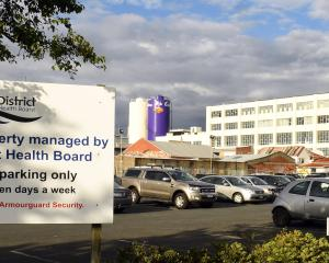 The Southern District Health Board has taken control of the former Cadbury car park in Dunedin....