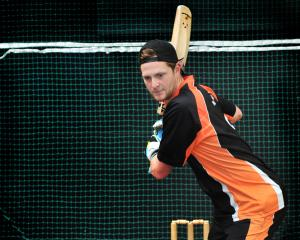 Corey Perrett shows his skills at Metro Indoor Sports in Dunedin yesterday. PHOTO: CHRISTINE O...